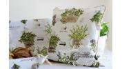 Koszyk na pieczywo - zioła