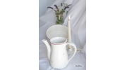 Ceramiczny dzban, wazon ecru