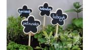 Tabliczka kredowa kwiatek