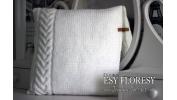 Poduszka biała 40x40