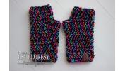 mitenki, rękawiczki   wzór 11