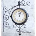 Zegar dworcowy retro